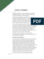 Choose a Designer