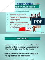 Chapter 6 Annual Report