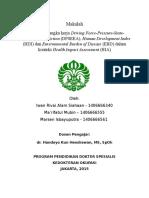 Makalah EBD DPSEEA HDI Dalam Health Impact Assessment