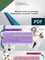 Presentación Estrategia Empresarial Y G.H