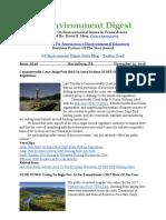 Pa Environment Digest Nov. 14, 2016