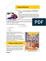 Energía Cinética Texto de Dinámica