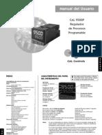 Scientemp - Manual del Usuario CAL 9500P Regulador de Procesos Programable - E s p a ñ o l