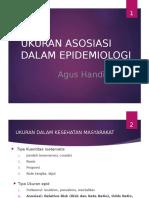 Ukuran Asosiasi Epid - Agus