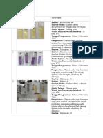 tabel pengamatan enzim intraseluler