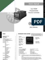 Scientemp - CAL 9500P Programmable Process Controller User Manual