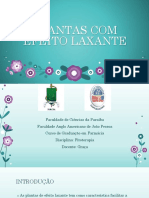 fitoterapia laxantes