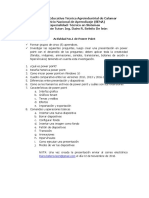 Actividad No1 Power Point 2016 Tecnico en Sistemas