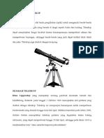 Pengertian Teleskop