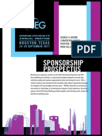 SEG Sponsorship Brochure 2017
