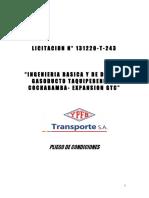 002 Pliego de Condiciones Inv 131220-T-243