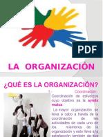 3.- LA ORGANIZACIÓN (1)