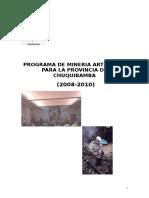 Prog Min Art AQP Chuquibamba