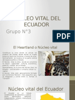 El Heartland o Nucleo Vital Grupo 3
