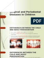 Gingival and Periodontal