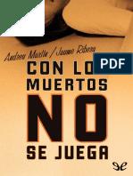 Con Los Muertos No Se Juega - Andreu Martin
