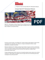 Ringkasan Intipati Kandungan Bajet 2017 Belanjawan Malaysia