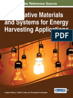 (Advances in Environmental Engineering and Green Technologies (AEEGT) Book Series) Losito, Onofrio_ Mescia, Luciano_ Prudenzano, Franceso-Innovative Materials and Systems for Energy Harvesting Applica