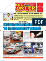Bikol Reporter August 14 - 20, 2016 Issue