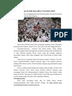 Ada Apa Di Balik Demo Akbar 4 November 2016