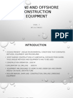 Marine and Offshore Construction Equipment