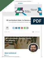 El Currículum Vitae Perfecto _ Libro Blanco La Ruta Del Empleo