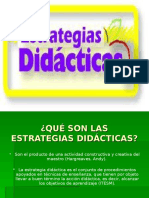 Estrategias didacticas..