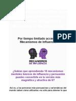 Conviértete en la versión más persuasiva e influyente de ti con Enrique Delgadillo y Mecanismos de Influencia