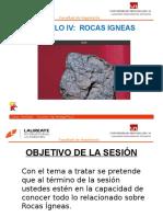 4º CLASE - ROCAS IGNEAS.pptx