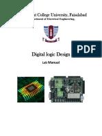 Digital Logic Design Lab Manual