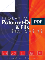 Catalogue Patouret Dubois