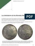 Los Diseñadores de Las Monedas Mexicanas _ EL DATO