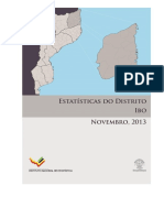 Estatisticas Do Distrito de Ibo