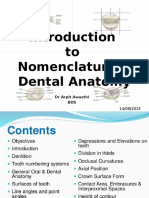 Introduction.to Dental Anatomy & Nomenclature