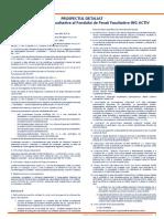 Prospectul Schemei de Pensii Facultative NN ACTIV Detaliat (Vechi)