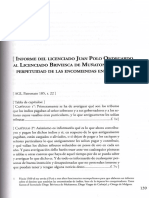 (CRONICA) Juan Polo Ondegardo - Informe Del Licenciado Juan Polo Ondegardo Al Licenciado Briviesca de Muñatones Sobre La Perpetuidad de Las Encomiendas en El Peru.