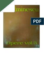 Mihai Eminescu - Opere - IX - Publicistica
