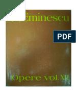 Mihai Eminescu - Opere - XII - Publicistica