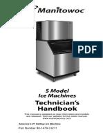 Manitow maquina de hielo modelo S