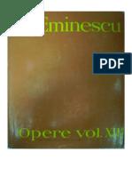Mihai Eminescu - Opere - XIII - Publicistica