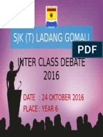 Inter Class Debate
