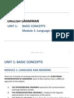 English Grammar UNIT_1_m1