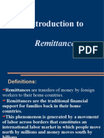 Remittance Accounts Presentation