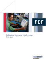 Calibration Basics and Best Practices