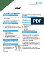 TDS - Masterflow 400
