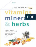 The Healing Power of Vitamins, Minerals & Herbs