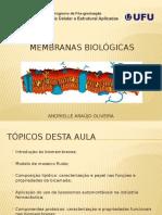 Membrana Plasmática e Demais Biomembranas