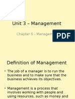 chapter 5 - management