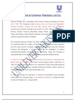 strategic management project on unilever by MIAN M SHAHNAWAZ