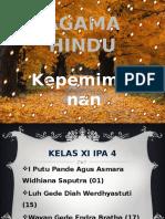 Agama Hindu Kepemimpinan